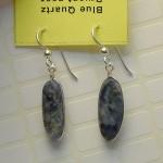 Blue Quartz Earrings view-2