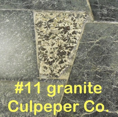 Granite from Culpeper Co. in RVCC soapstone countertop