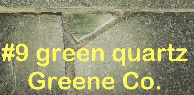 Green Quartz from Greene Co. in RVCC soapstone countertop