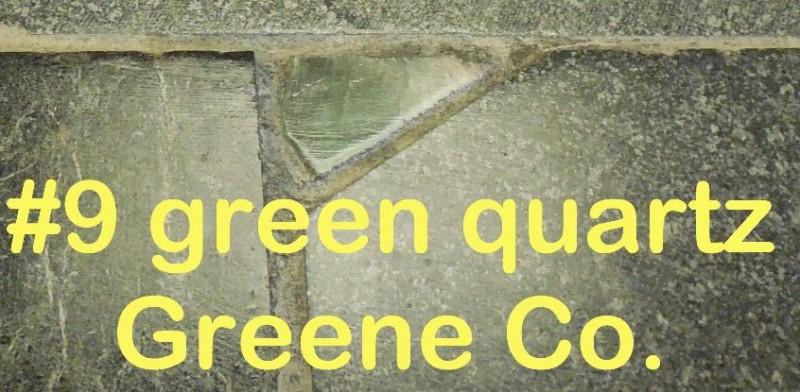 Green Quartz from Greene Co. in RVCC soapstone countertop