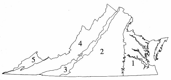 5 Provinces Of Va Eq Volcanoes Plate Tectonics Flipquiz Classic