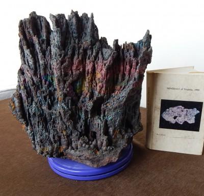 Hematitite (iridescent stalactites), VA - 01