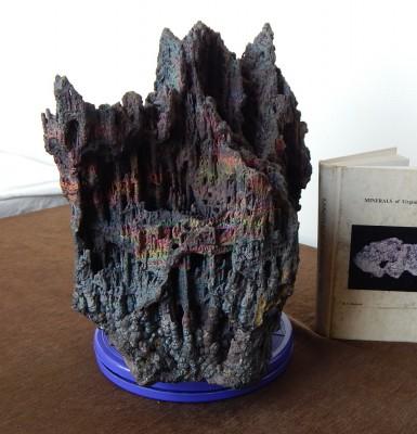 Hematitite (iridescent stalactites), VA - 03
