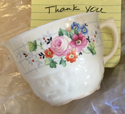 Tea Cup to make pendant from.