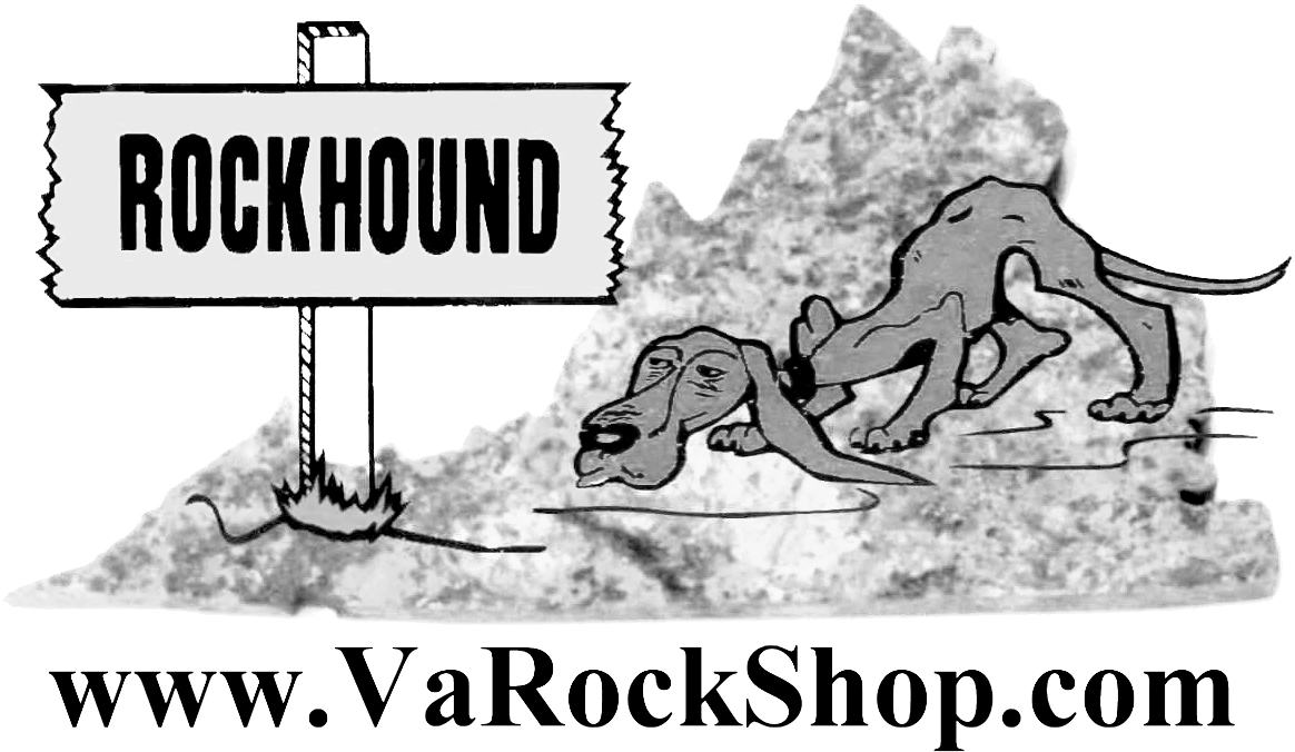A Virginia Rockhounder's Web Site Logo